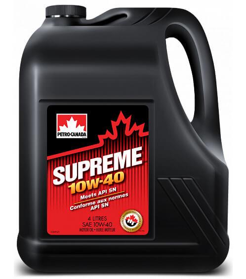 Petro-Canada Supreme 10W-40 4 л