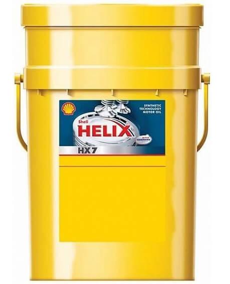 SHELL Helix HX7 5W-30 20 л