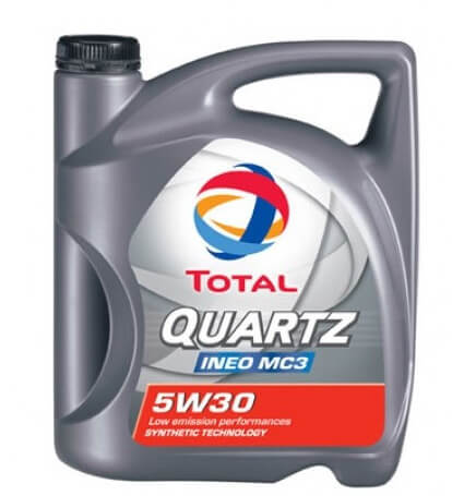 TOTAL Quartz INEO MC3 5W30 4 л