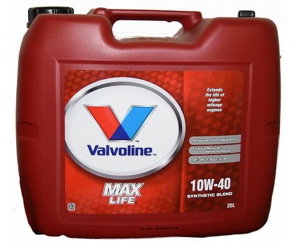 VALVOLINE MaxLife 10W-40 20 л