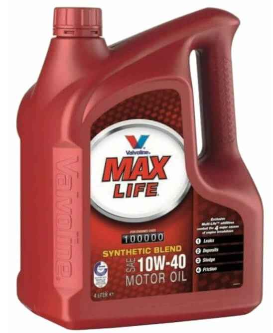 VALVOLINE MaxLife 10W-40 4 л