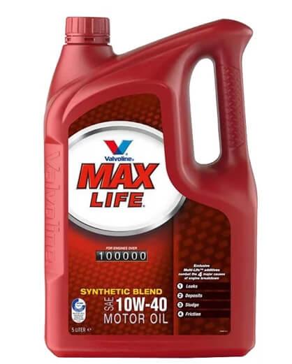 VALVOLINE MaxLife 10W-40 5 л