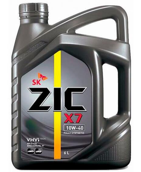 ZIC X7 LS 10W-40 6 л