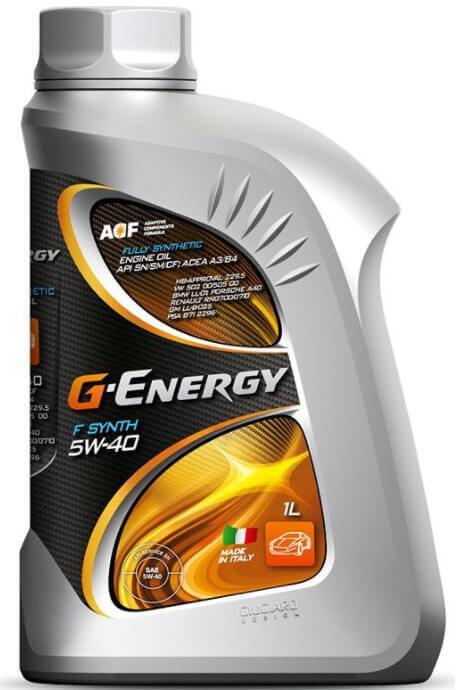 GAZPROMNEFT G-Energy F Synth 5W-40 1 л
