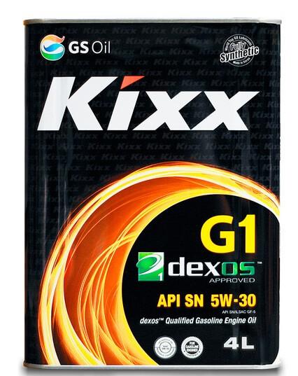 Kixx G1 Dexos1 5W-30 4 л