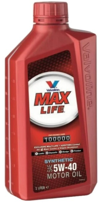 VALVOLINE MaxLife Synthetic 5W-40 1 л