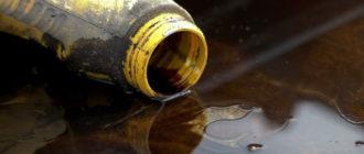 утилизация отработанного моторного масла