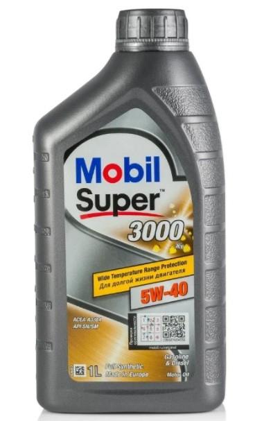 MOBIL Super 3000 X1 5W-40 1 л