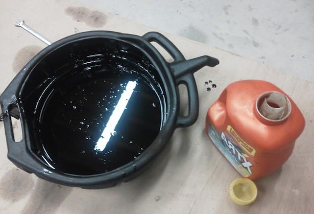 переработка отработанного моторного масла