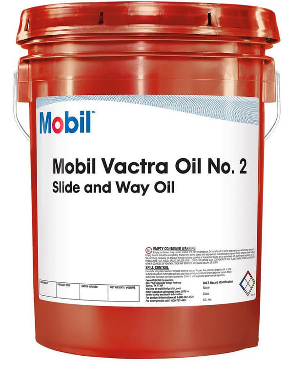 MOBIL Vactra Oil 2