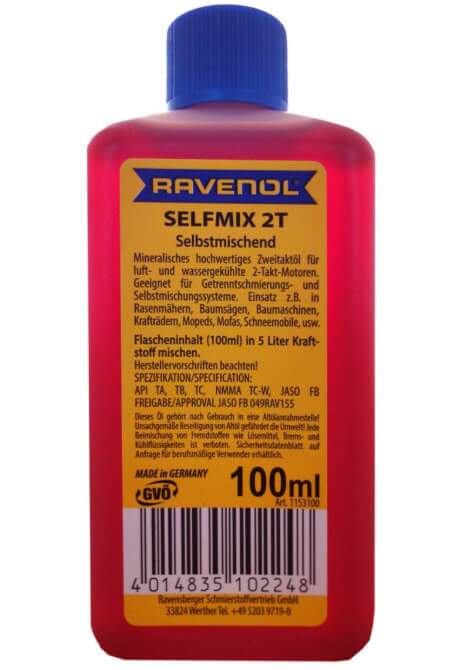 Ravenol Selfmix 2T 0,1 л