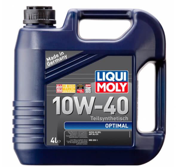 LIQUI MOLY Optimal 10W-40 4 л