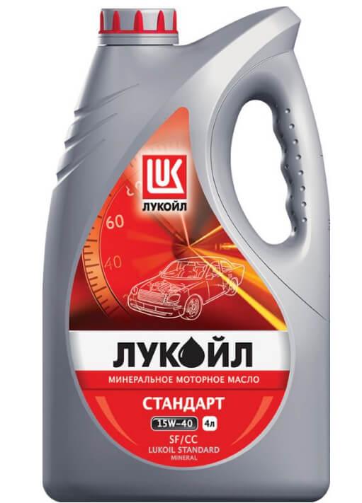 Лукойл Стандарт 15W-40 SF/CC 4 л