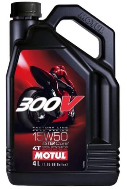 Motul 300V Factory Line Road Racing 15W50 4 л