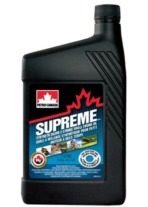 Petro-Canada Supreme Synthetic Blend 2-Stroke Small Engine 1 л
