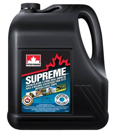 Petro-Canada Supreme Synthetic Blend 2-Stroke Small Engine 4 л