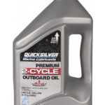 QUICKSILVER Premium 2-Cycle Outboard Oil TC-W3 4 л