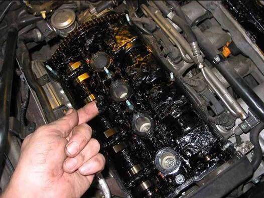 Отложения в двигателе