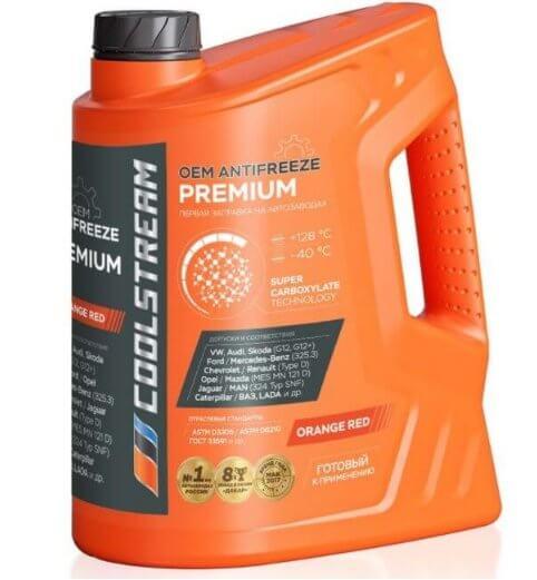 CoolStream Premium 40, CS-010102, оранжевый, 5 кг