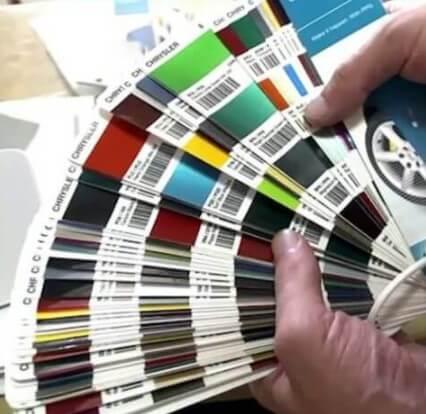 Как подобрать краску для автомобиля по цвету