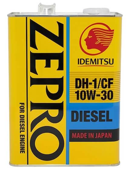 IDEMITSU Zepro Diesel 10W-30 4 л