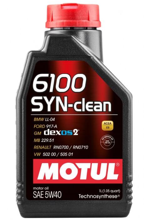 Motul 6100 SYN-clean 5W40 1 л