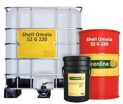 Редукторное масло SHELL Omala S2