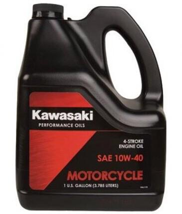 KAWASAKI Motocycle 10W-40 3,785 л