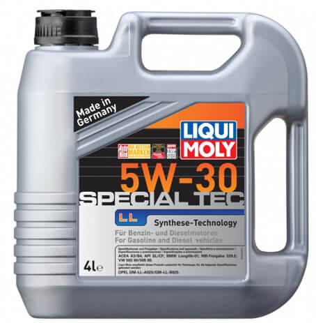 LIQUI MOLY Special Tec LL 5W-30 4 л