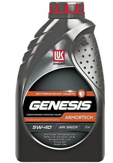 Лукойл Genesis Armortech 5W-40 1 л