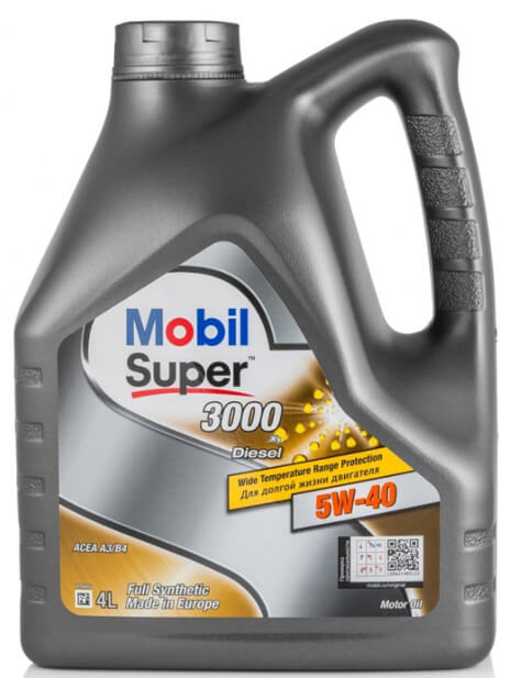 MOBIL Super 3000 X1 Diesel 5W-40 4 л