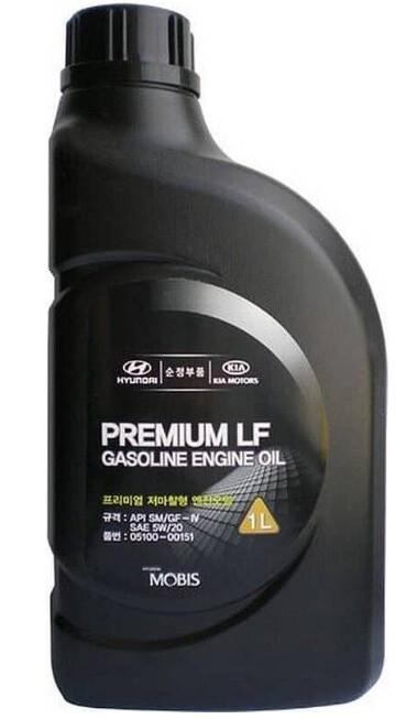 MOBIS Premium LF Gasoline 5W-20 1 л
