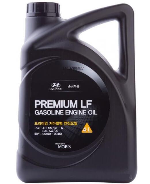 MOBIS Premium LF Gasoline 5W-20 4 л