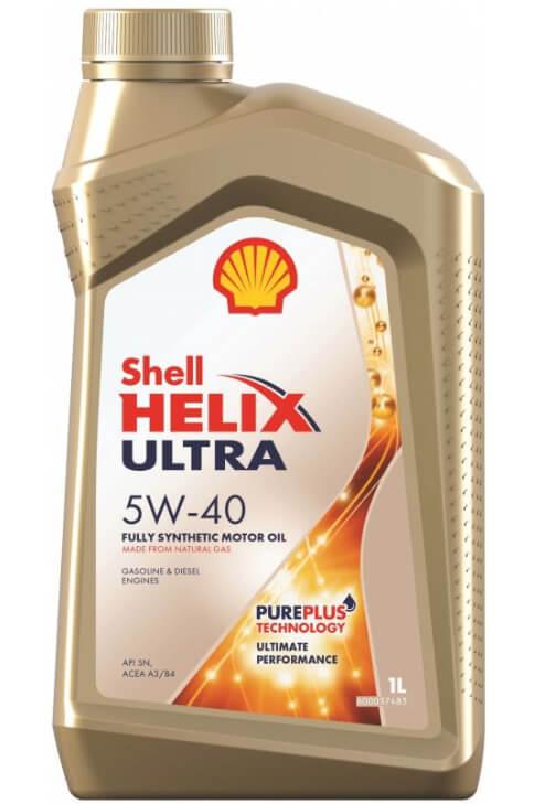 SHELL Helix Ultra 5W-40 1 л