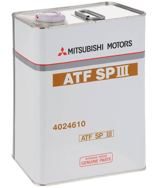 масло для трансмиссииMitsubishi ATF SP III