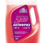 AGA -40°C красный 5 кг