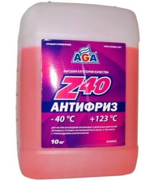 AGA -40°C красный 10 кг