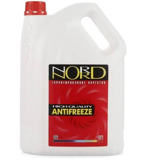 NORD High Quality Antifreeze готовый -40C красный 5 л