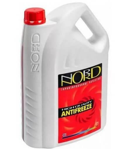 Антифриз NORD красный NR20249, 3 кг