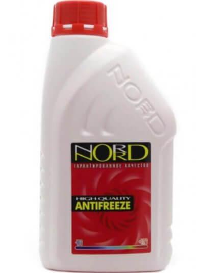 NORD High Quality Antifreeze готовый -40C красный 1 л