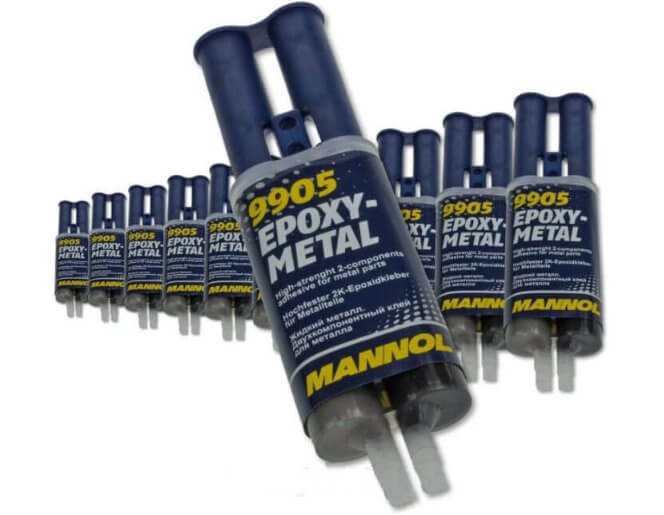 MANNOL EPOXY-METAL Жидкий металл 9905