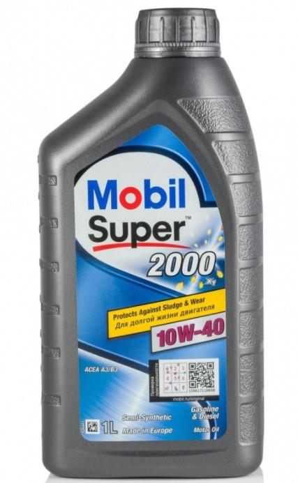 MOBIL Super 2000 X1 10W-40 1 л