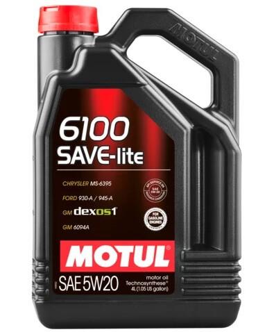 Motul 6100 SAVE-lite 5W-20 4 л