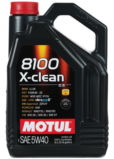 MOTUL 8100 X-clean 5W-40 5 л