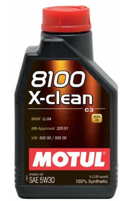 Motul 8100 X-clean 5W30 1 л