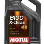 Motul 8100 X-clean 5W30 5 л