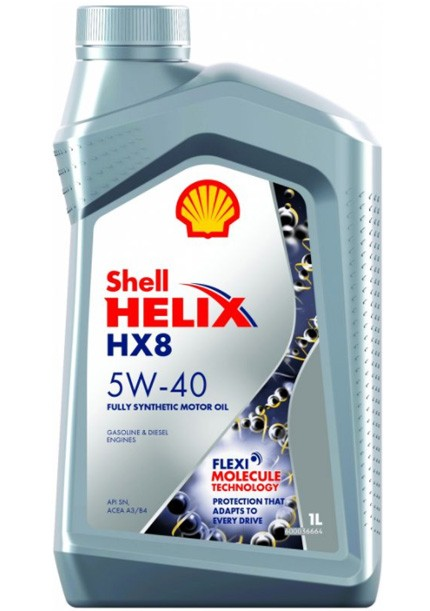SHELL Helix HX8 Synthetic 5W-40 1 л