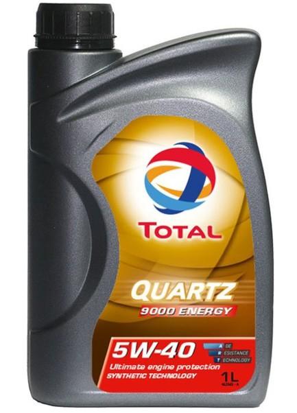 Total Quartz 9000 Energy 5W40 синтетическое 1 л