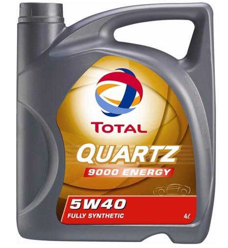 Total Quartz 9000 Energy 5W40 синтетическое 4 л