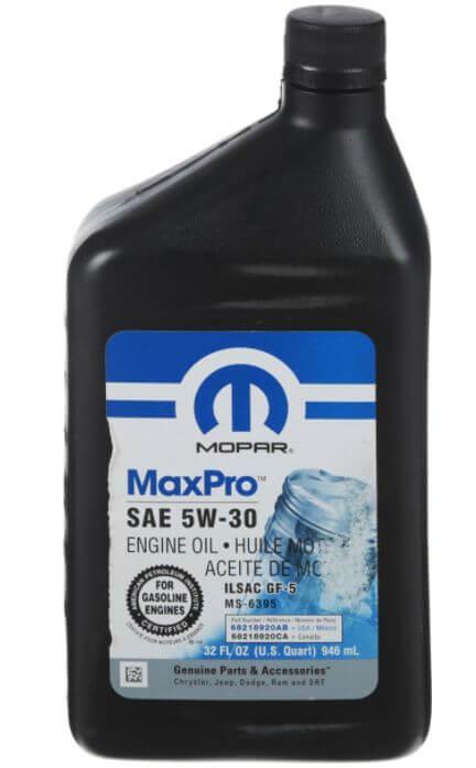 Mopar MaxPro 5W-30 0,946 л